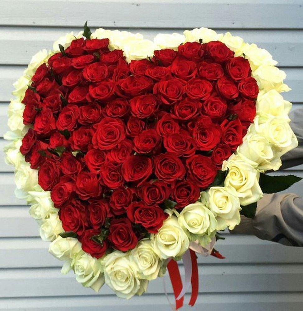 Как сделать огромный букет роз