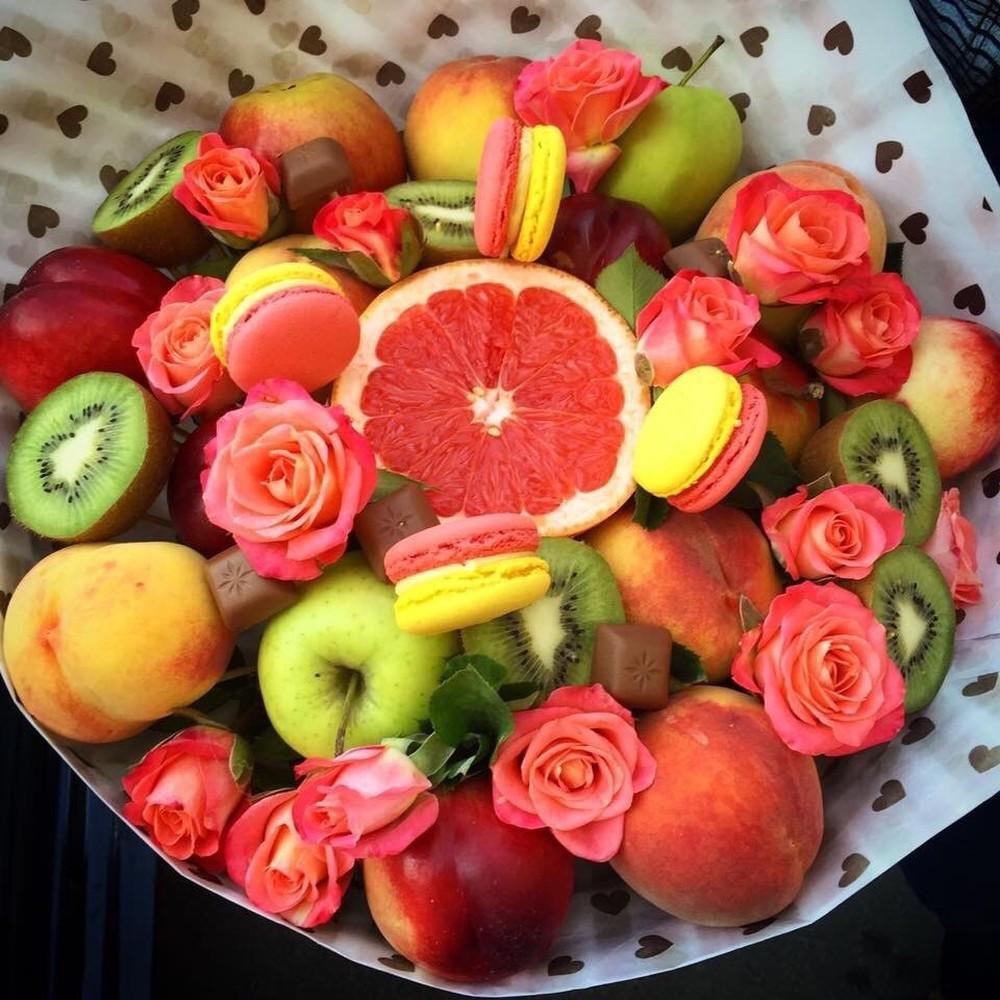 Картинки фрукты с днем рождения